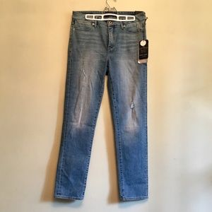 Lucky Brand Hayden Skinny Distressed Jean Mid Rise